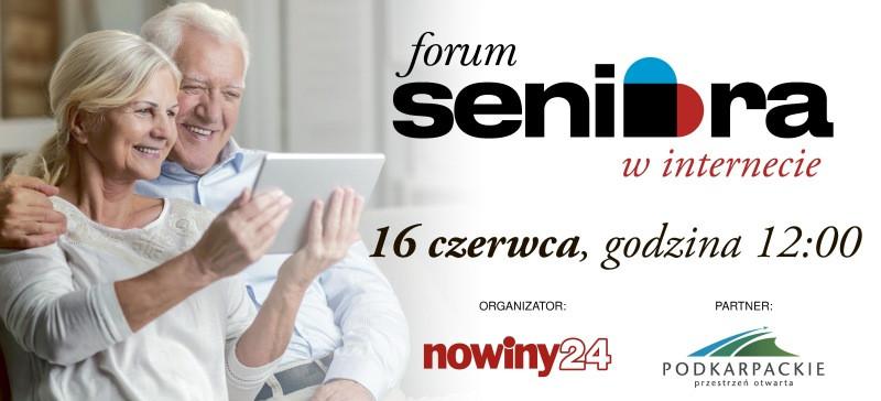 I Forum Aktywnego Seniora już 16 czerwca!