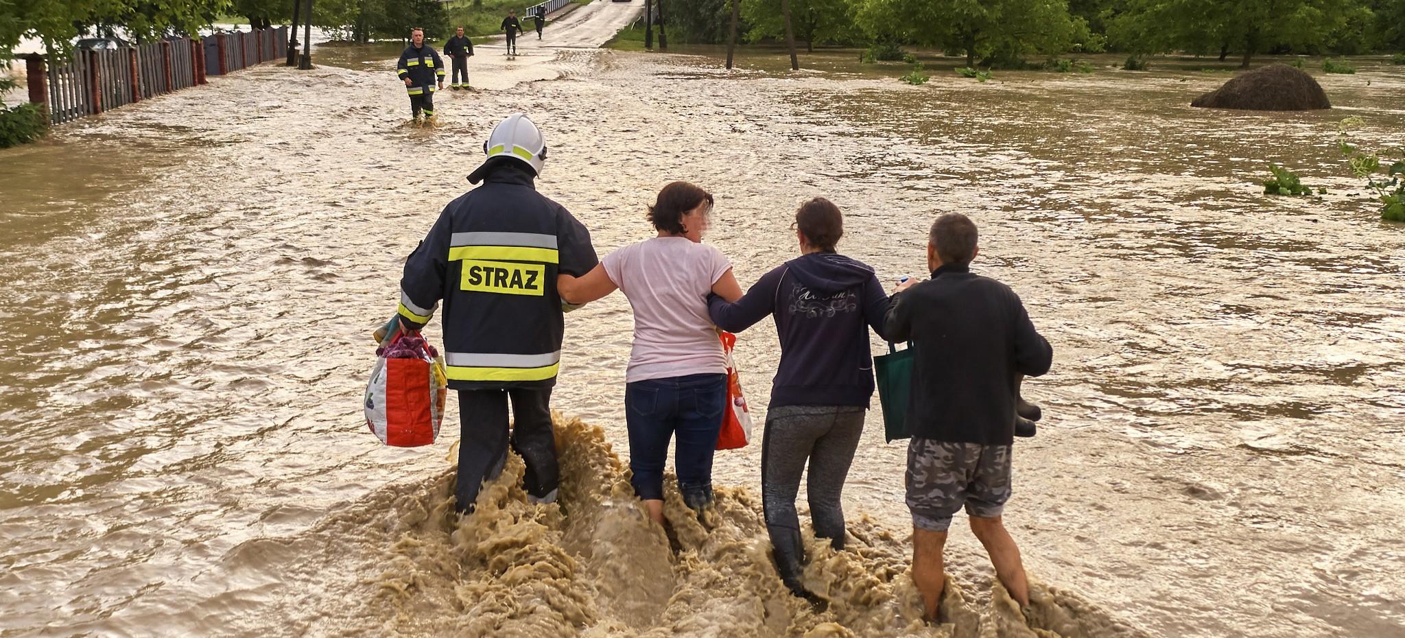 Podkarpacie pod wodą. Setki interwencji strażaków (ZDJĘCIA)