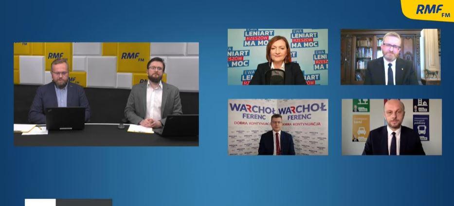"""NA ŻYWO: """"Rzeszów ma głos"""". Debata kandydatów na prezydenta (VIDEO)"""