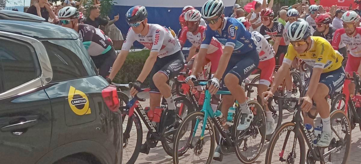 Z Sanoka startował 3. etap TdP! (VIDEO, FOTO)