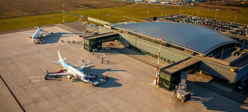 Lotnisko w Jasionce liderem grupy do miliona pasażerów [RAPORT ZRPL]