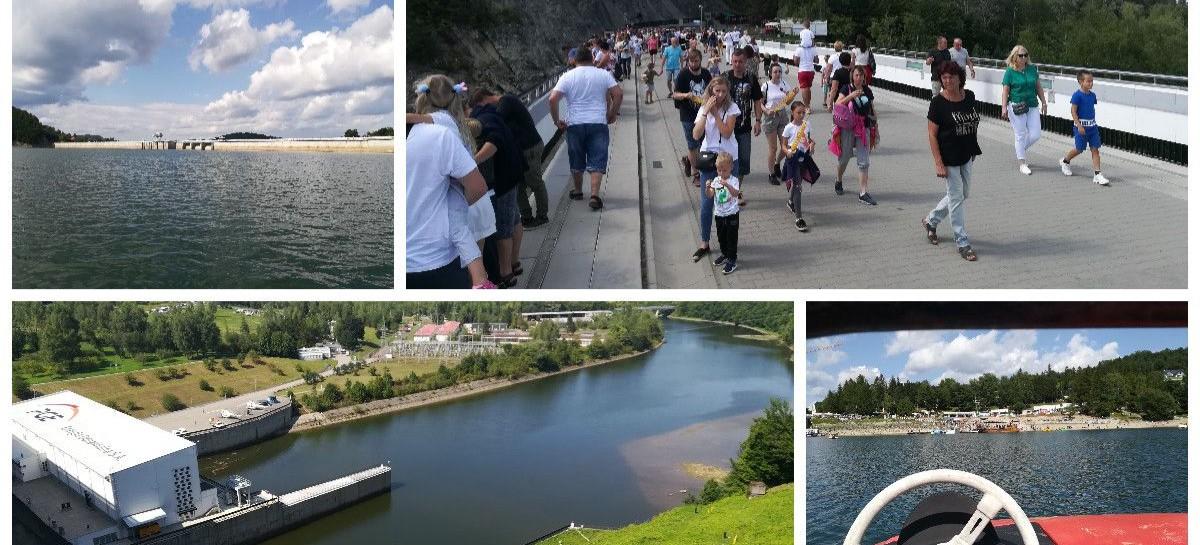 BIESZCZADY: Tłumy turystów odwiedzają Solinę (ZDJĘCIA)