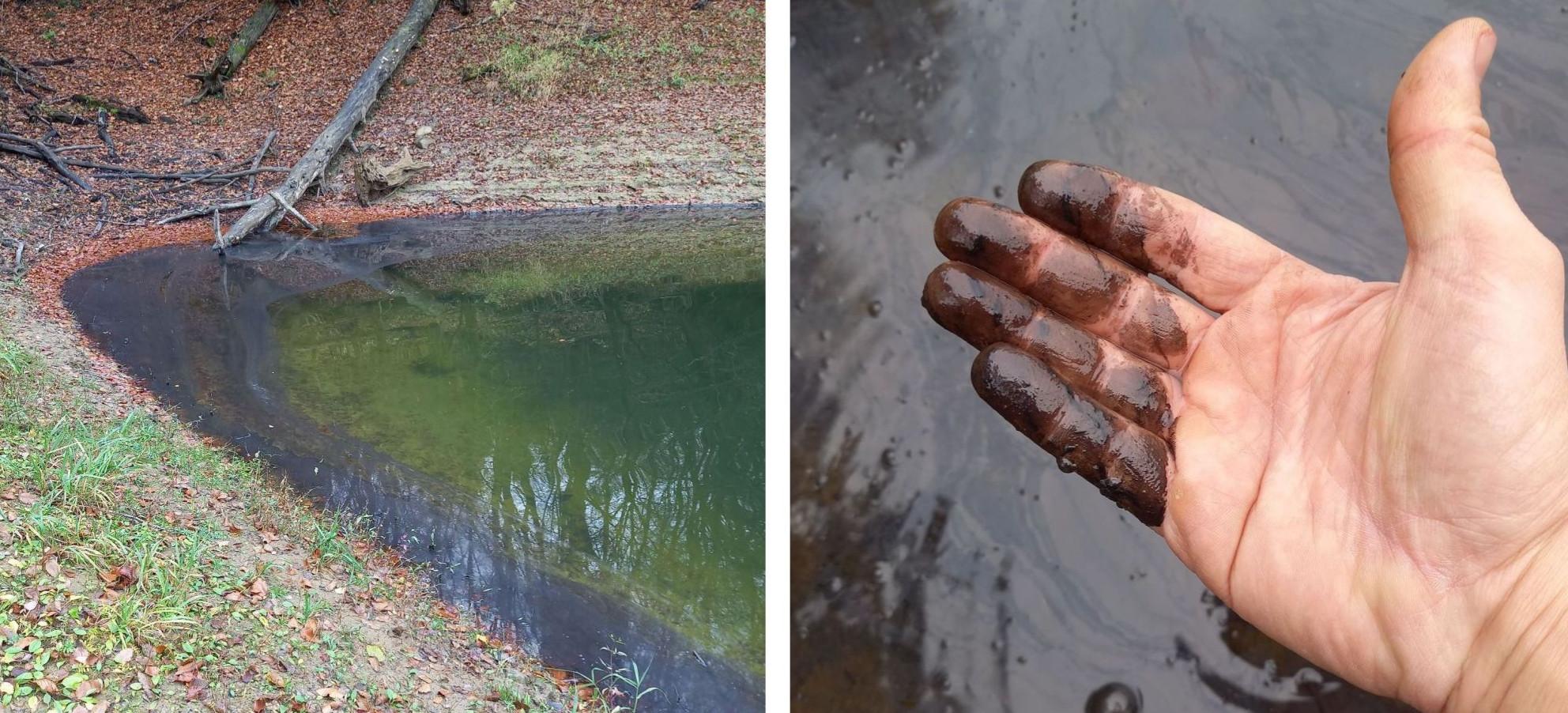 Wylało się coś do Soliny, niech pływa! Co zanieczyściło jezioro?