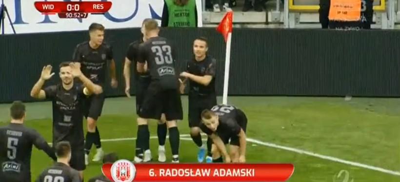 Emocje w Łodzi. Apklan Resovia Rzeszów wygrała z Widzewem! (WIDEO)