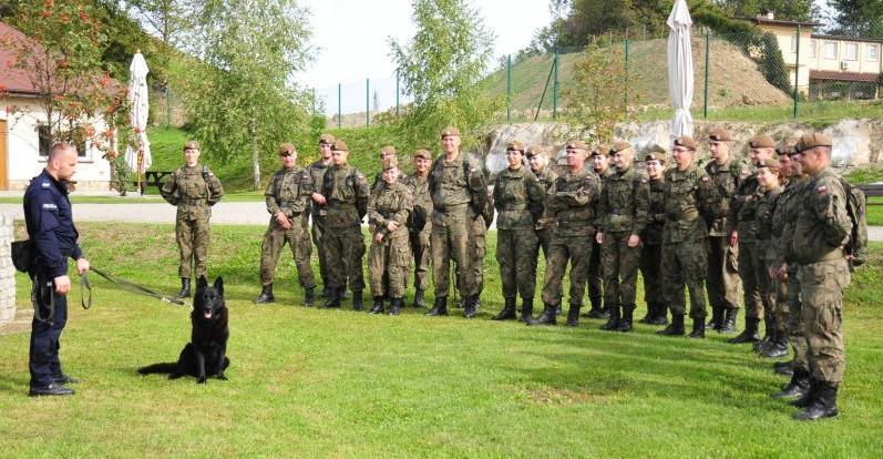 Policjanci szkolili żołnierzy Wojsk Obrony Terytorialnej