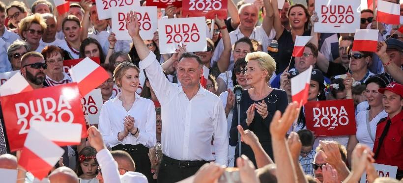 RZESZÓW. Andrzej Duda spotkał się z mieszkańcami (WIDEO)