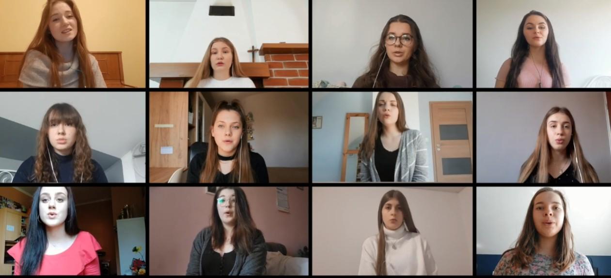 """Wyjątkowe wykonanie """"Kto do nieba pragnie iść"""" (VIDEO)"""