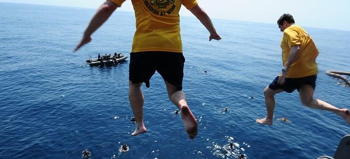 RZESZÓW: Skoki do wody z kadrą narodową