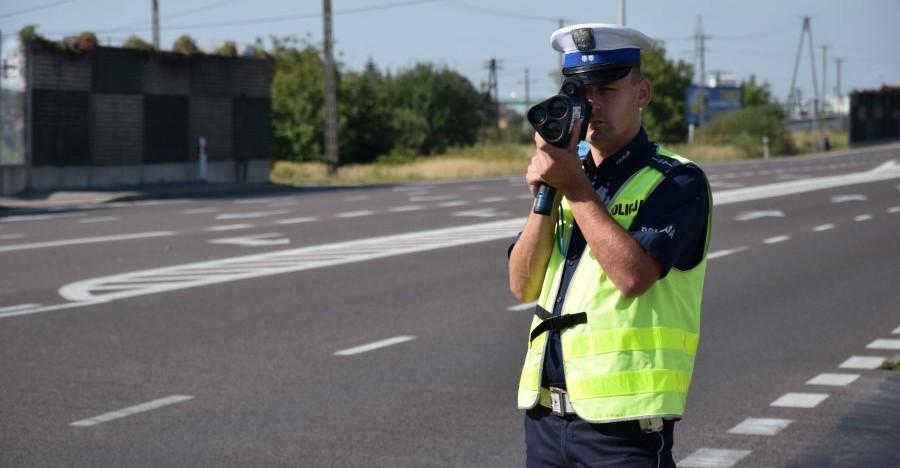 """Weekendowe działania policji pn. """"Prędkość"""""""