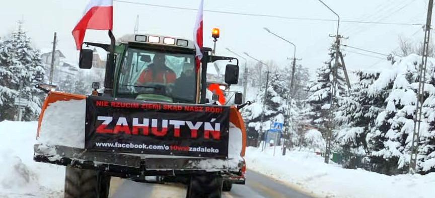 """Protest traktorowy to dopiero początek? """"Uszanujcie nasze zdanie"""" (VIDEO, ZDJĘCIA)"""