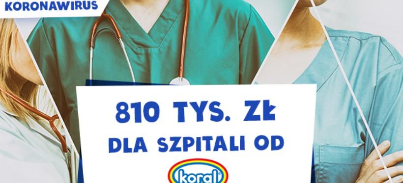 KORONAWIRUS. Firma Koral wesprze finansowo Szpital Miejski w Rzeszowie!