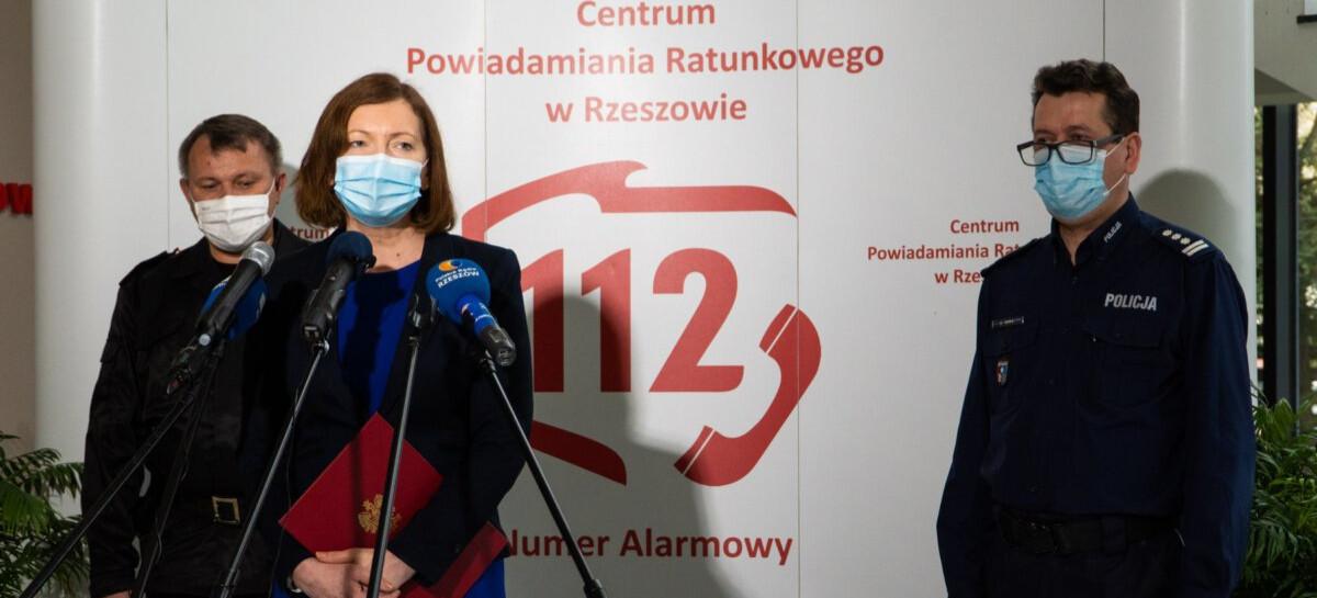 Centrum Powiadamiania Ratunkowego w Rzeszowie przejmuje numer 998! (FOTO, VIDEO)
