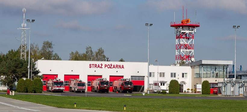 Straż pożarna z lotniska w Jasionce włączona do Krajowego Systemu Ratowniczo–Gaśniczego