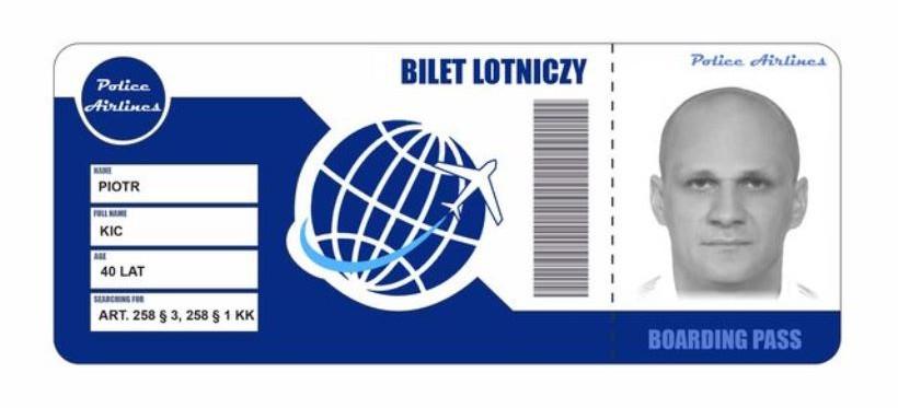 """RZESZÓW. """"Bilety lotnicze"""" dla poszukiwanych przestępców! Specjalna akcja policji"""