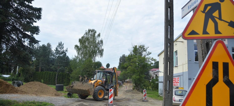 BRZOZÓW: Prace drogowe na ul. Kołowej