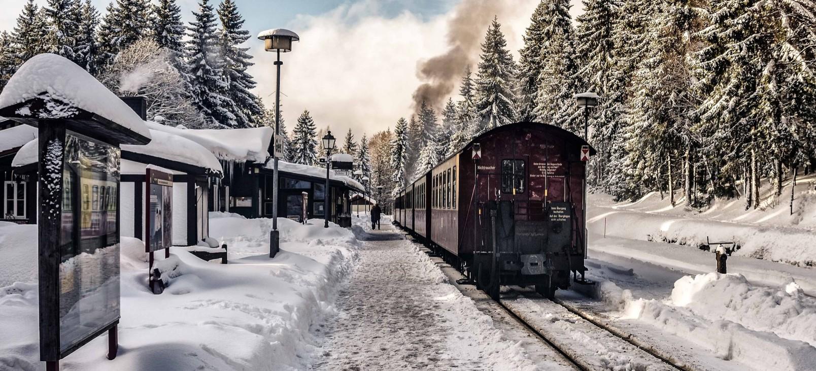 Bieszczadzka Kolejka Leśna zachwyca również zimą!