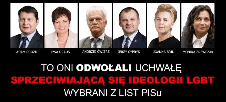 Radny Jacek Kotula apeluje do koleżanek i kolegów z PiS