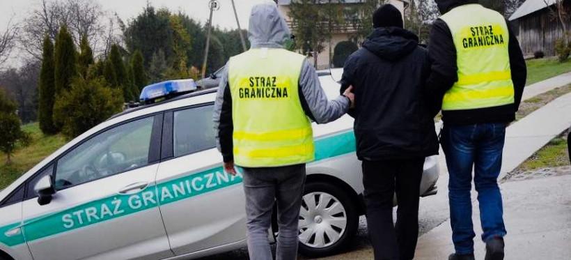 PODKARPACIE. Pogranicznicy rozbili grupę przestępczą organizującą nielegalny pobyt w Polsce