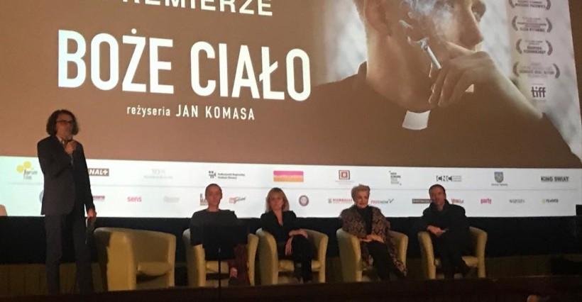"""Premiera filmu """"Boże Ciało"""" w Rzeszowie. Pełna sala w kinie Zorza!"""
