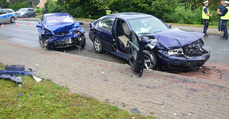 Niebezpiecznie w Dukli. Trzy osoby poszkodowane (FOTO)