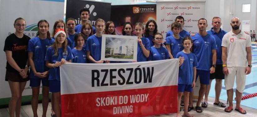 Sukces skoczków do wody Stali Rzeszów! Zdobyli 30 medali mistrzostw Polski