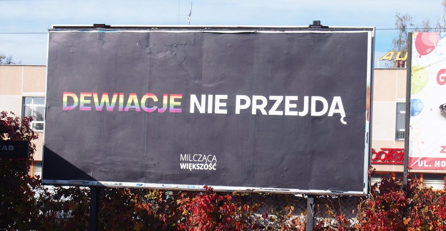 Billboardy Milczącej Większości w Rzeszowie (ZDJĘCIA)