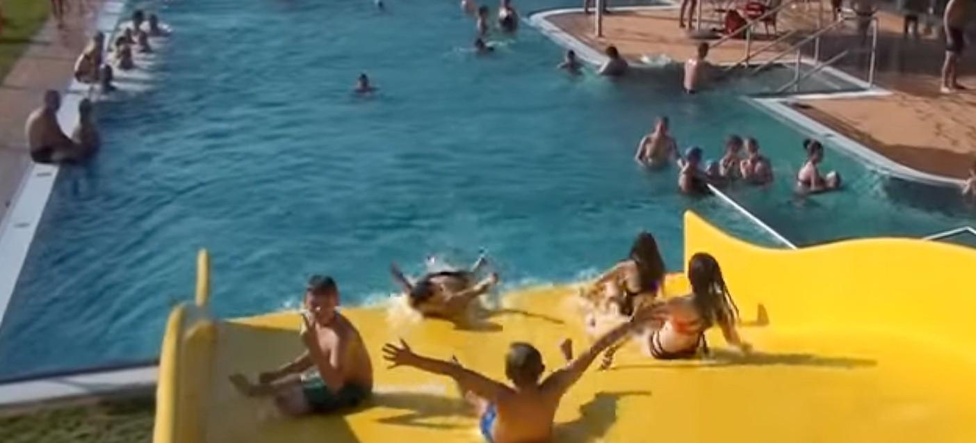 AQUARIUS LESKO: Basen zewnętrzny już otwarty! (VIDEO)