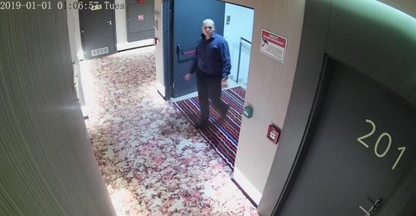 RZESZÓW: Policja szuka sprawcy uszkodzenia mazdy pod hotelem Grand