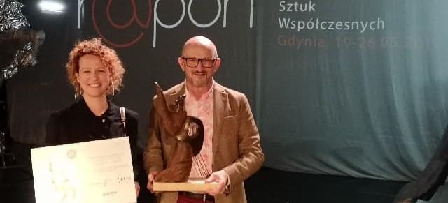 Spektakl Teatru im. Wandy Siemaszkowej z nagrodą specjalną na Festiwalu Polskich Sztuk Współczesnych R@port