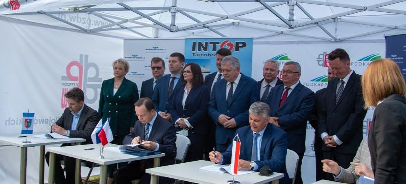 W Łańcucie powstanie wiadukt kolejowy. Podpisano umowę (FOTO, VIDEO)