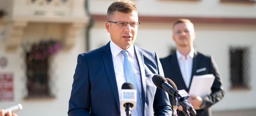 Głogów Młp. chce sprzedać działki na terenie Rzeszowa. Marcin Warchoł: Prezydent musi podjąć natychmiastowe działania