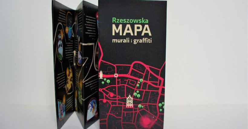 """RIK wykonał """"Rzeszowską mapę murali i graffiti"""""""