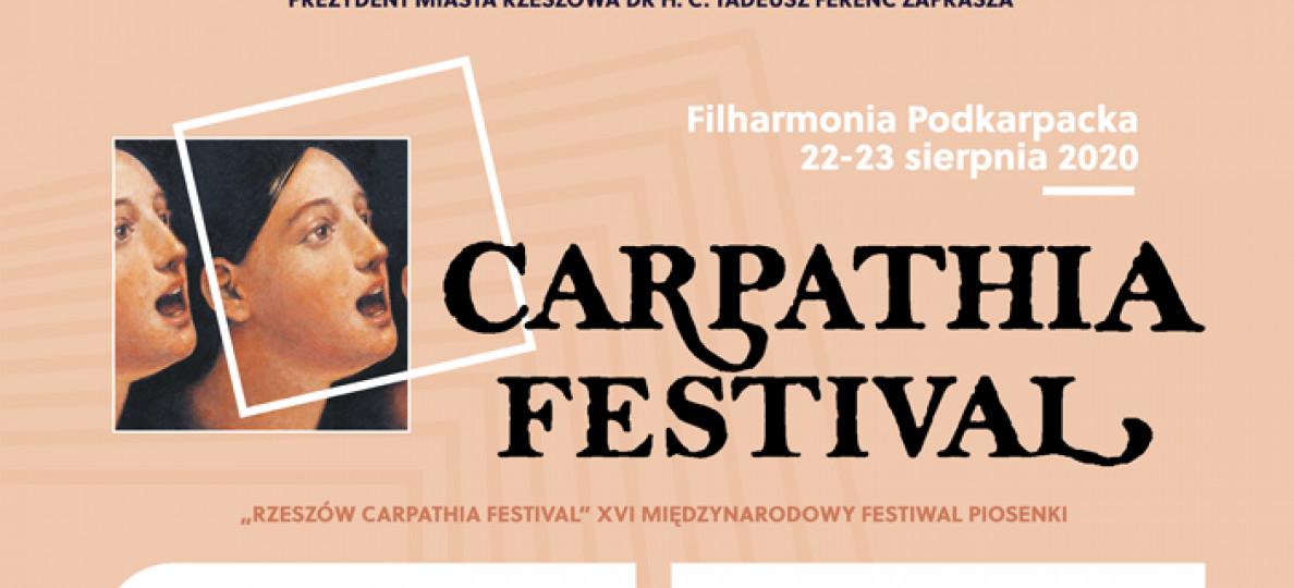"""""""Rzeszów Carpathia Festival"""" – XVI edycja międzynarodowego festiwalu"""