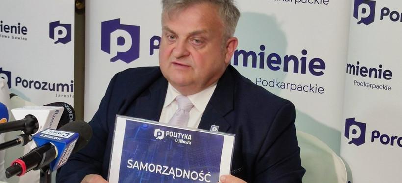 Stanisław Kruczek zrezygnował z członkostwa w Porozumieniu Gowina
