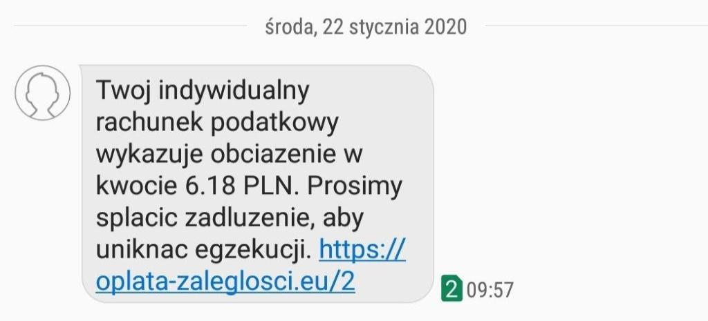 RZESZÓW. KAS ostrzega przed fałszywymi wiadomościami SMS i e-mail!