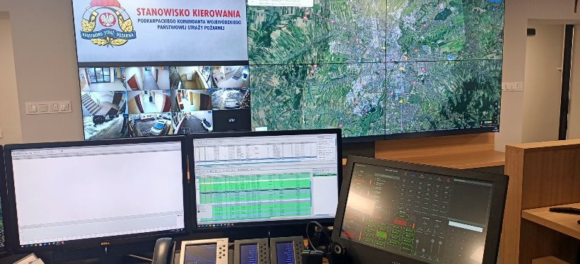 Nowoczesny system koordynowania działań dla rzeszowskiej straży pożarnej