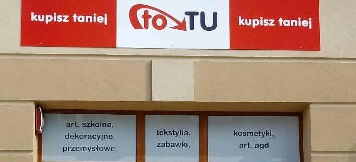 TO TU KUPISZ TANIEJ – zapraszamy do nowo otwartego sklepu!
