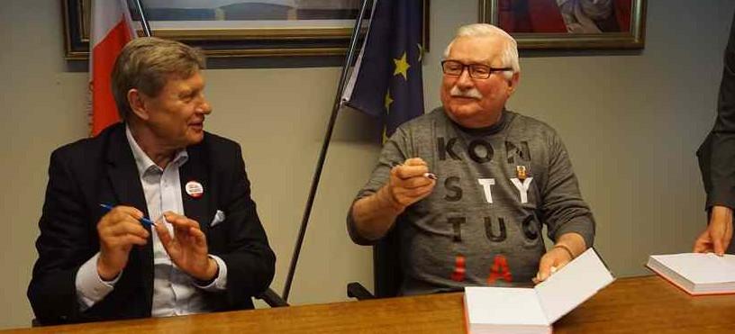 """Wałęsa i Balcerowicz przyjadą do Rzeszowa.  Klub Dyskusyjny """"Europa Wolności"""""""