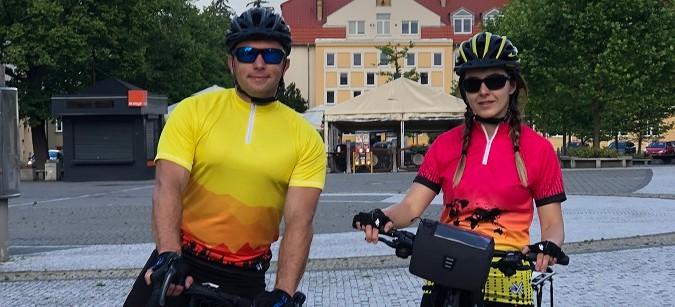 """Będą """"kręcić"""" dla dzieci. 700 km rowerowej trasy (ZDJĘCIA)"""
