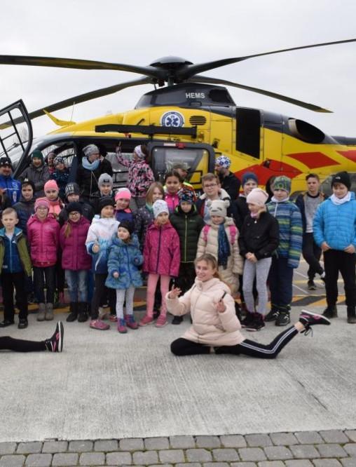 Mali żacy w helikopterze! Świetna lekcja (FOTORELACJA)