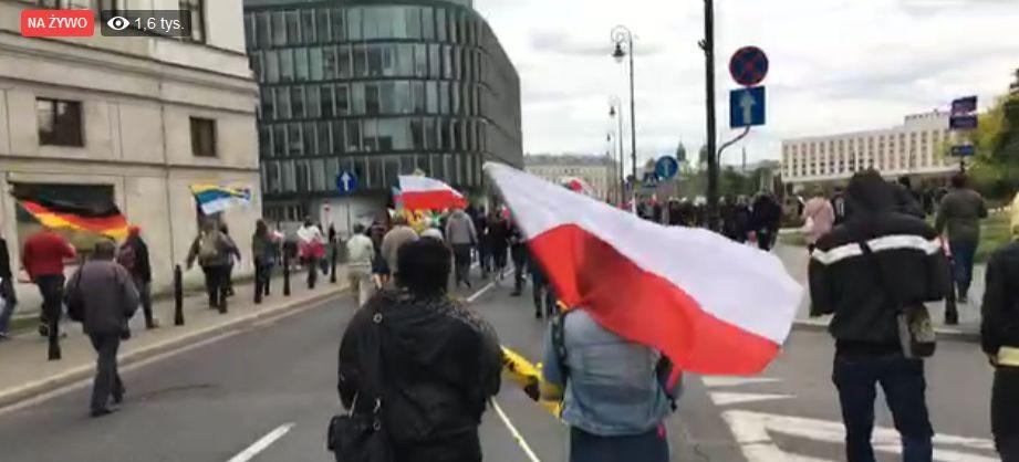 POLACY.PL / TVPOLSKA.PL: Ogólnopolski strajk przedsiębiorców w Warszawie (NA ŻYWO)
