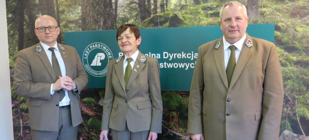 Zmiana na stanowisku dyrektora RDLP. Grażyna Zagrobelna odeszła na emeryturę (FOTO)