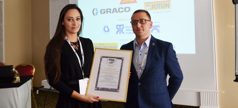 Absolwentka Politechniki Rzeszowskiej z prestiżową nagrodą PSK za pracę inżynierską