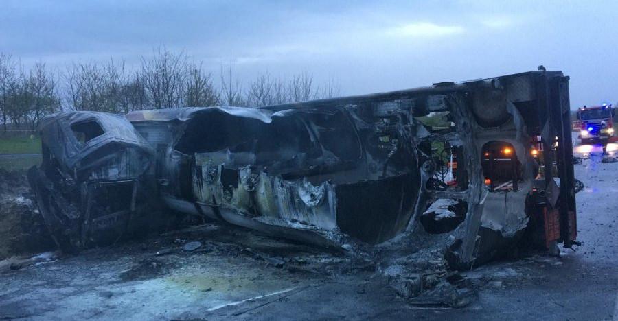 Tragiczny wypadek na obwodnicy Leżajska! Nie żyje 27-latek (FOTO)