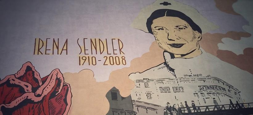 We wrześniu zostanie odsłonięty mural ku czci Ireny Sendlerowej (ZDJĘCIA)