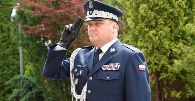 Komendant podkarpackiej policji odchodzi na emeryturę