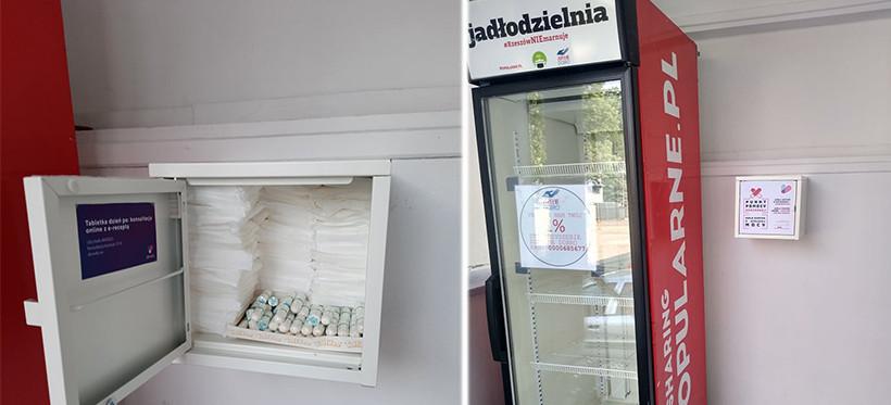 RZESZÓW. Uruchomiono szafkę Punktu Pomocy Okresowej dla kobiet! (FOTO)
