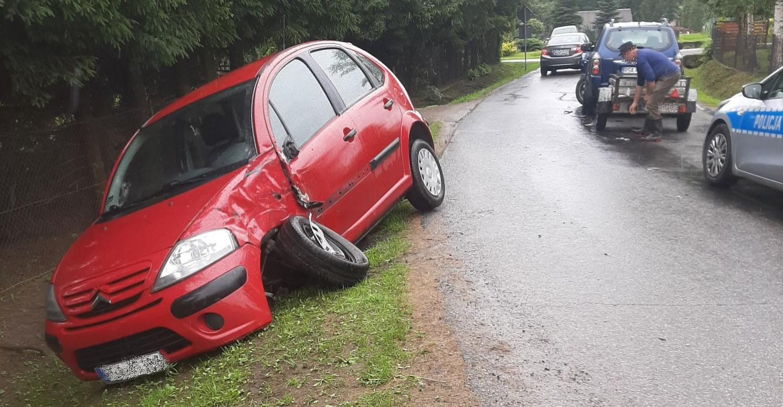 Chwila nieuwagi i samochody porozbijane (ZDJĘCIA)