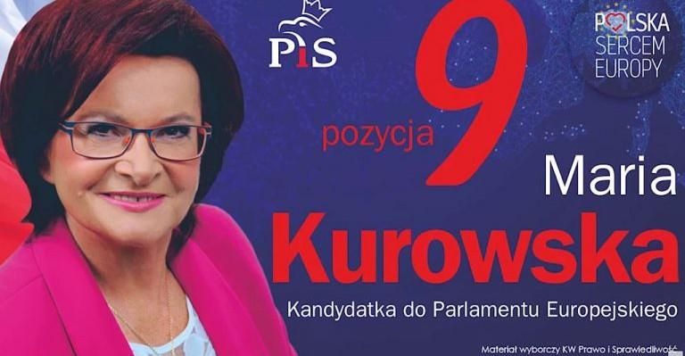 MARIA KUROWSKA: Polska sercem Europy, w moim sercu bije Podkarpacie (SPOT VIDEO)