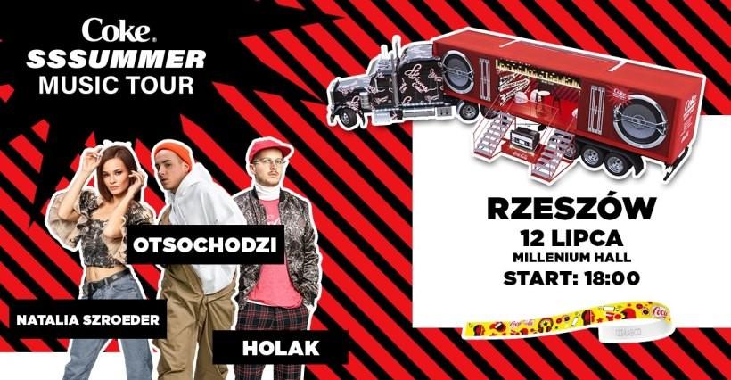 Coke SSSummer Music Tour w Rzeszowie! Zagrają Otsochodzi, Natalia Szroeder i HOLAK! (WIDEO)
